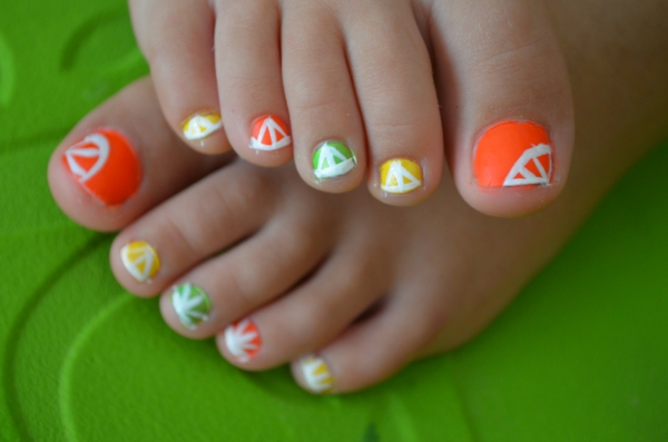 nageldesign bilder citrus