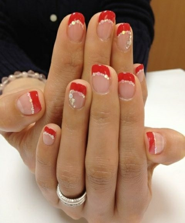 Different French Nails Designs