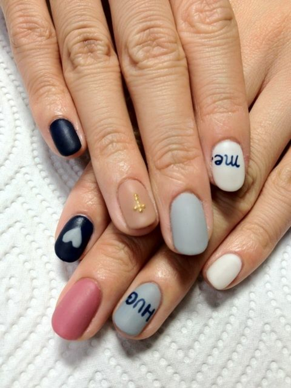 Nageldesign galerie und inspirierende nail art bilder - Nagellack designs ...