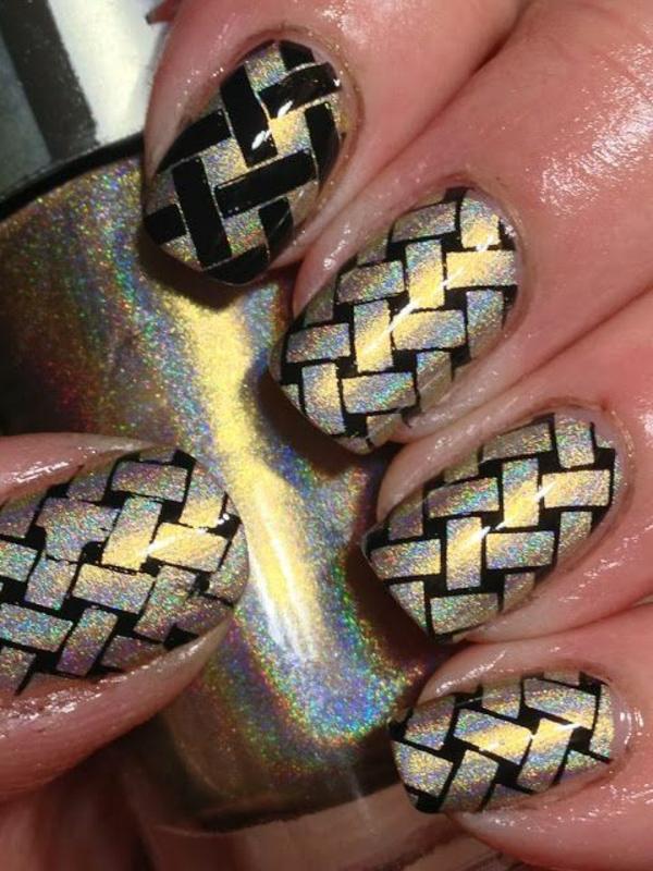 nagel design bildergalerie nail art design glänzend