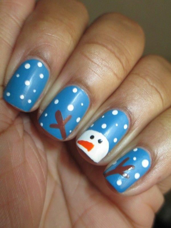 nagel design bildergalerie nail art weihnachten