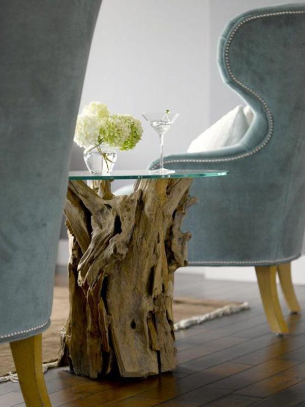 Eiche Massiv Naturholz Möbel Couchtisch