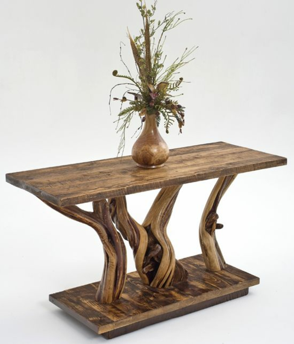 Naturholz Eiche Massiv Möbel Design