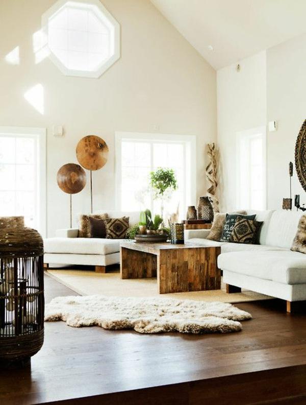 eiche massiv möbel gemütlich naturholz