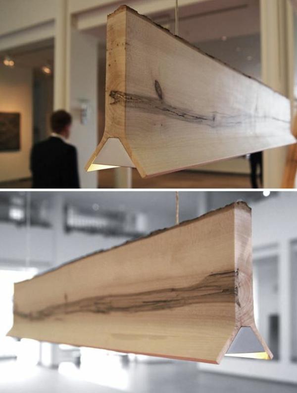 naturholzmöbel massivholz massivmöbel design beleuchtung