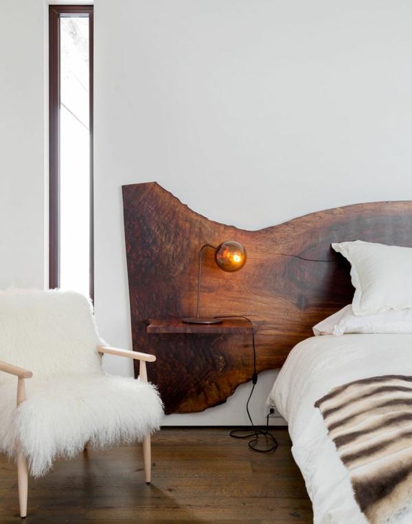 naturholz möbel massivholz massivmöbel design kopfteil hingucker