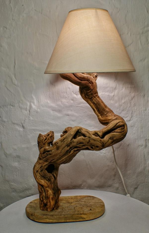 massivholz naturholz massivmöbel design lampenfuß