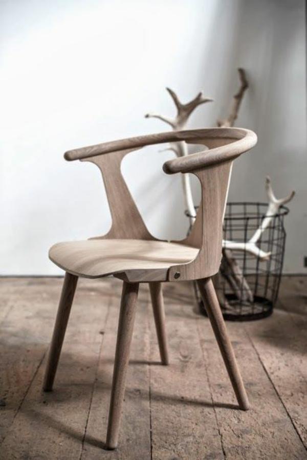 naturholz massivholz möbel massivmöbel design stuhl