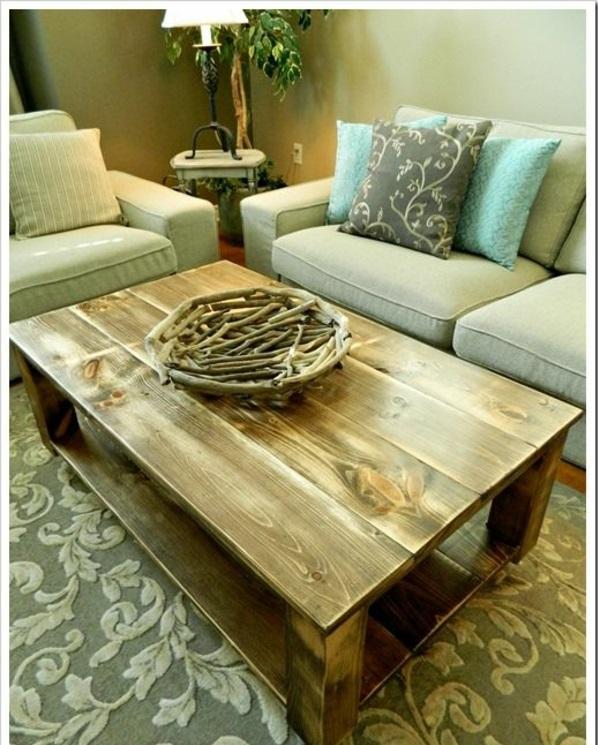 naturholz wohnzimmertisch möbel massivholz massivmöbel design-