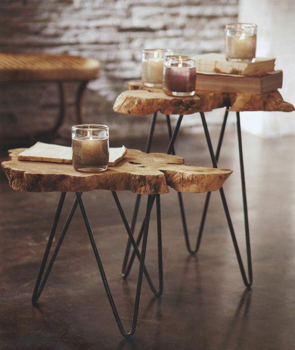 coole wohnzimmertische:60 Naturholzmöbel – Tatsachen darüber, welche Sie sich merken