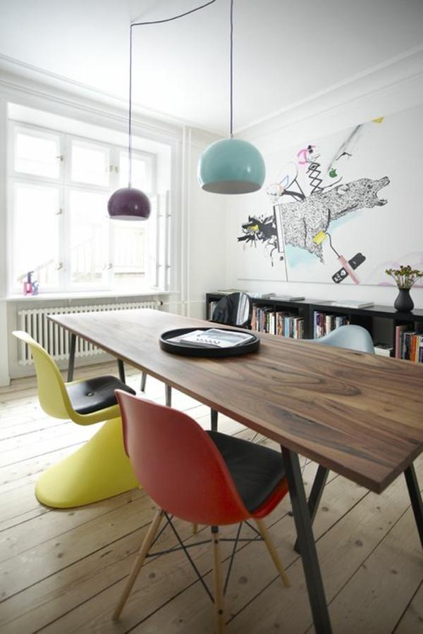 panton stuhl gelb designer stühle esszimmer möbel