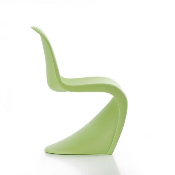 panton stuhl hellgrün designer stühle verner panton