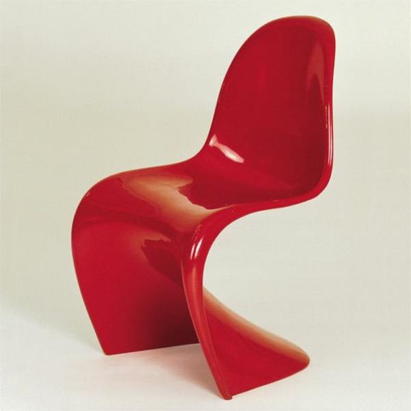 panton stuhl rot designer stühle danisch design möbel