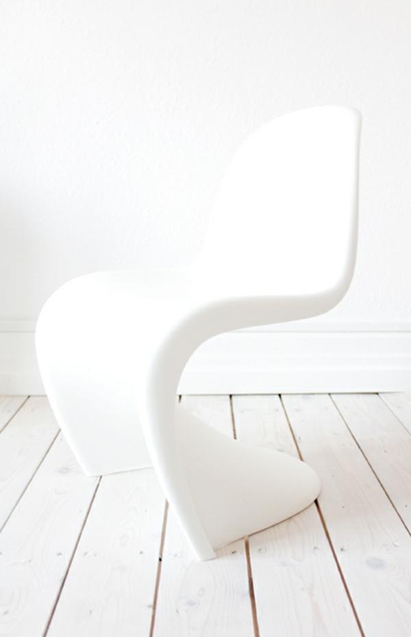 panton stuhl weiß designer stühle verner panton