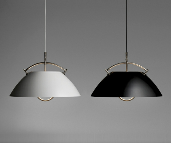 pendelleuchten höhenverstellbar lampenschirm schwarz oder weiß