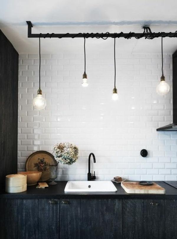pendelleuchten höhenverstellbar schlichtes design pendelleuchte küche
