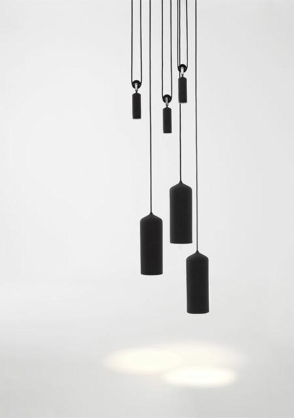 pendelleuchten höhenverstellbar schwarz schlichtes design studio wm