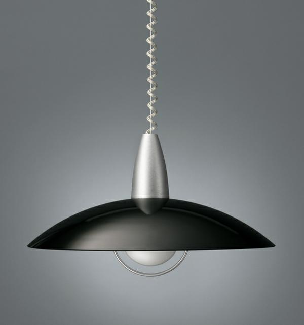 pendelleuchten höhenverstellbar schwarz schlichtes design