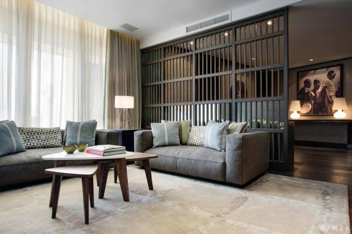 62 Gelungene Beispiele, Die Für Einen Raumtrenner Sprechen Raumtrenner Ideen Schlafzimmer