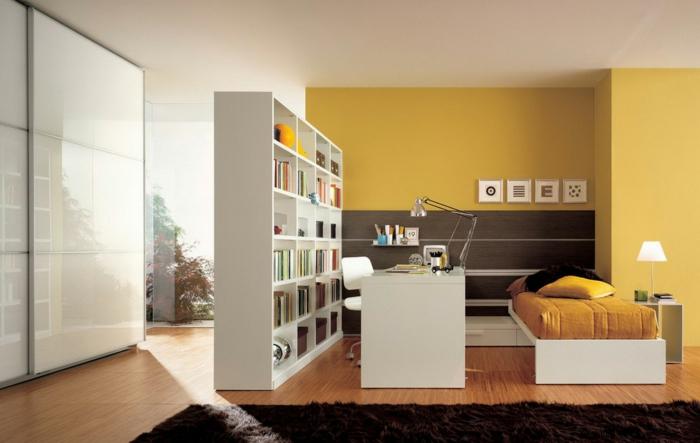 62 gelungene beispiele die f r einen raumtrenner sprechen. Black Bedroom Furniture Sets. Home Design Ideas