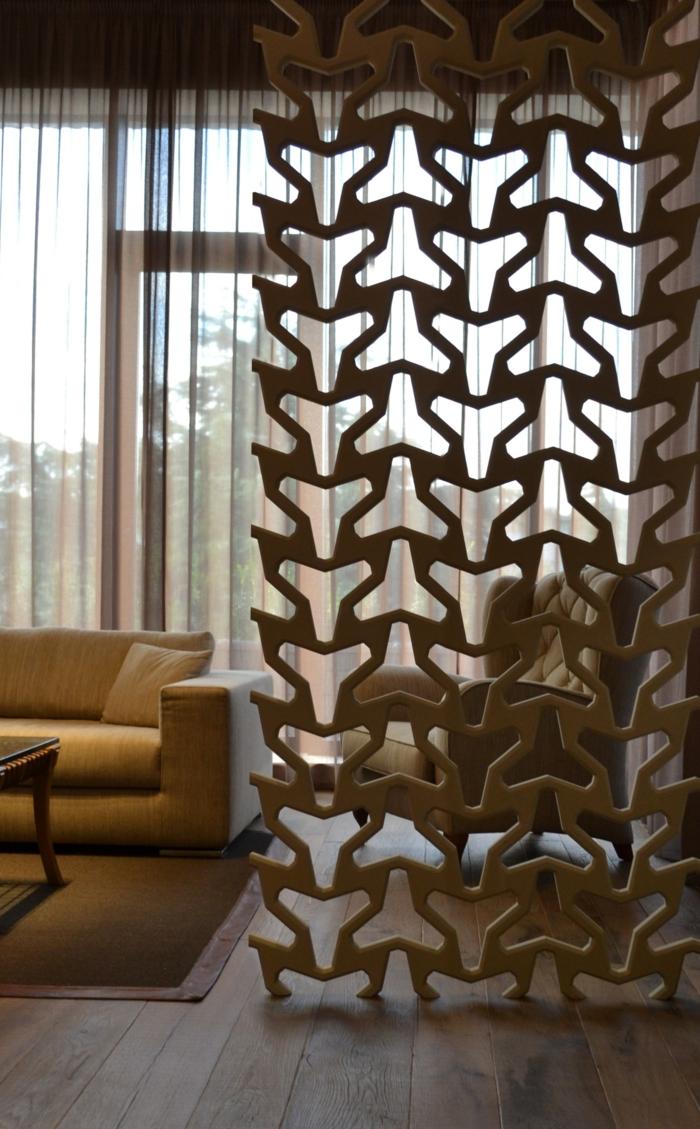 raumtrenner ideen raumteiler vorhang raumteiler regal weisse deko wand