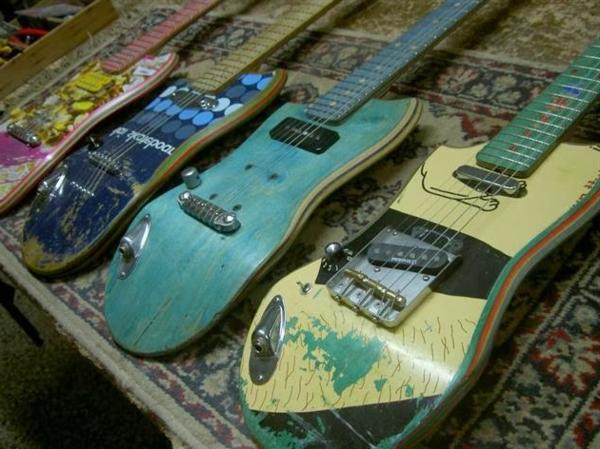 recycling kunst gitarren