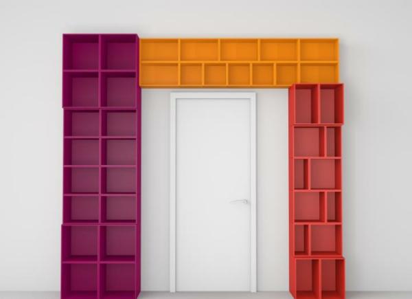 regale selber zusammenstellen dreifarbig