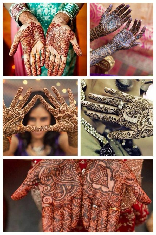 reisen nach indien indische kultur henna tattoo