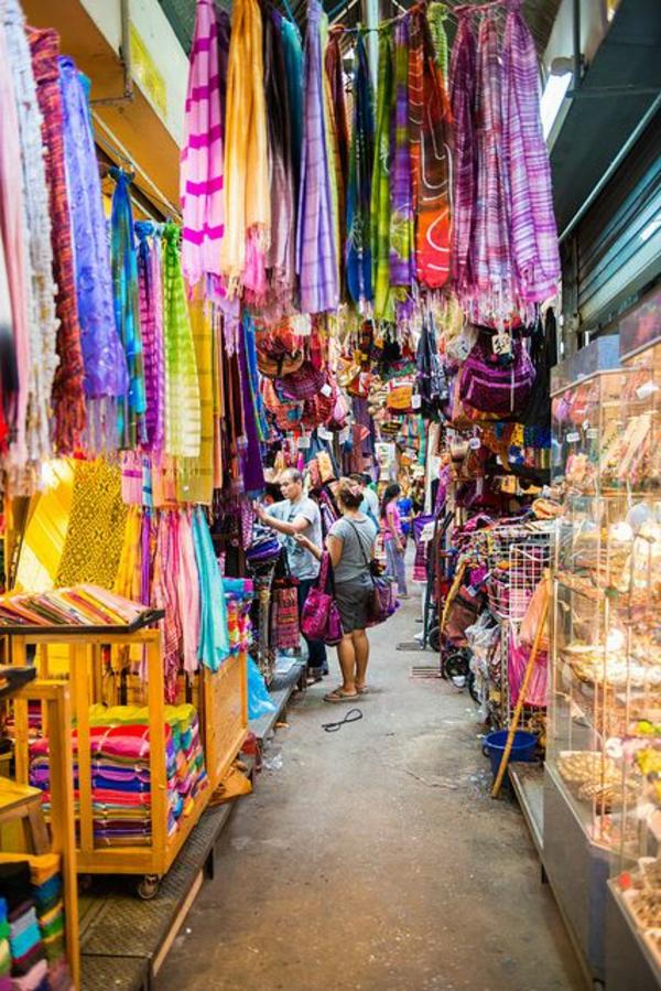 reise nach thailand rundreise stoffmarkt bangkok