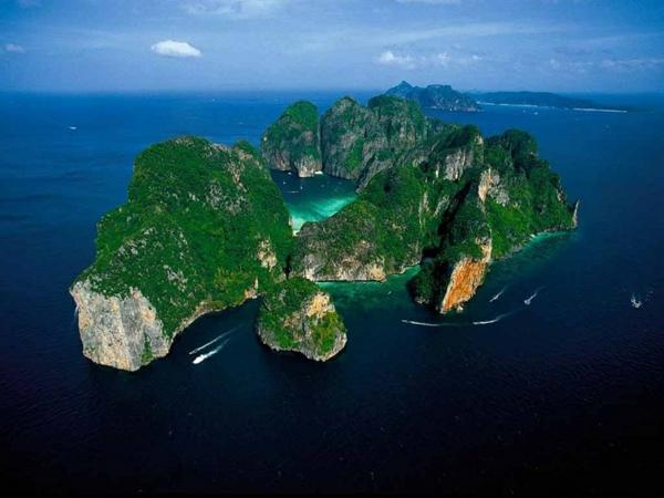 reise nach thailand runthailand inseln koh phi phidreise
