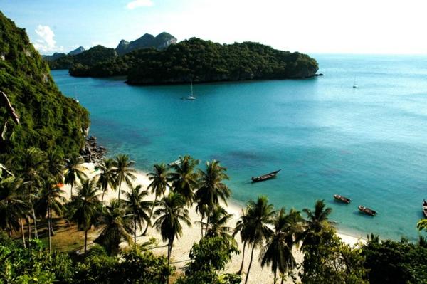 reise nach thailand rundreise thailand inseln meer sand palmen