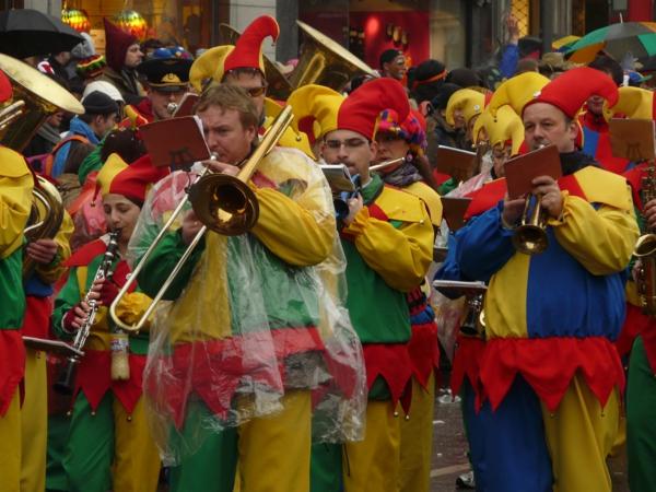 rosenmontag 2015 narren clown karneval