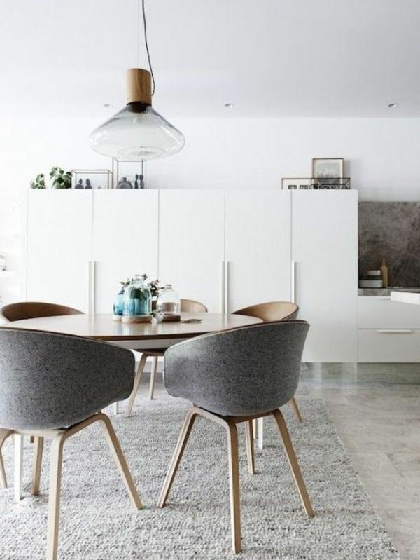 Perfekt Runde Esstische Esszimmertische Mit Stühlen Skandinavische Möbel