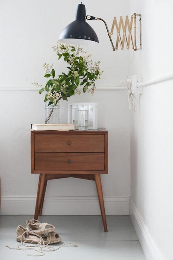 schöne zimmerpflanzen bilder holz kommode vintage möbel