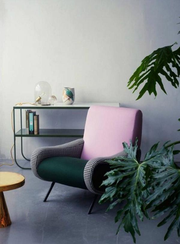 schöne zimmerpflanzen wohnzimmer sessel bildergalerie
