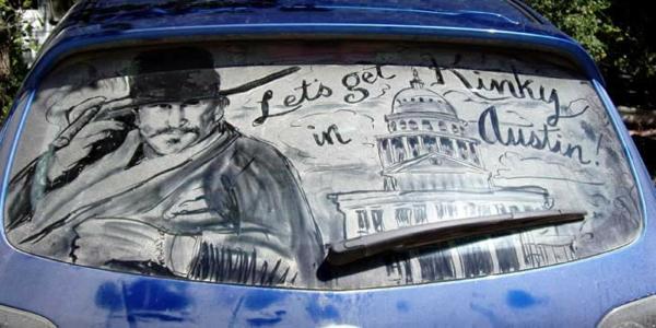 schmutzige autos kunst staub gemälde filme