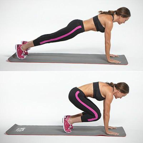 Gymnastikübungen zum Abnehmen
