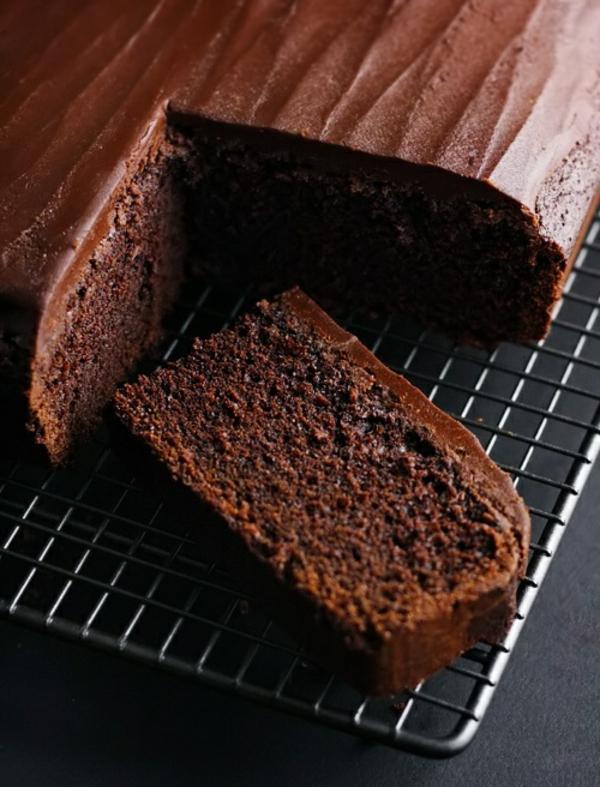 schokoladenkuchen eckig lecker