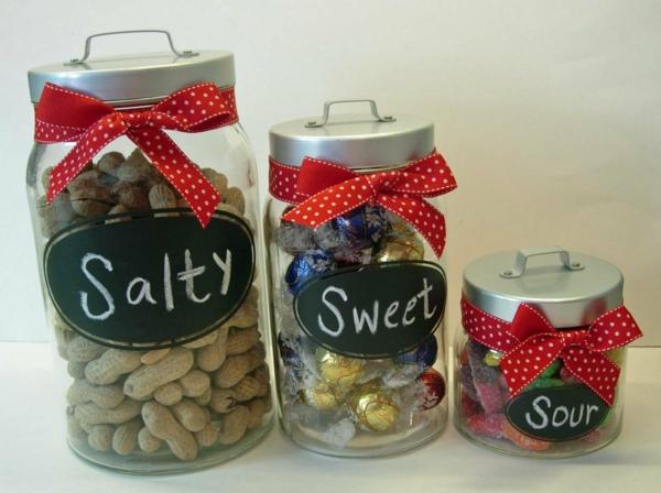 selbstgemachte weihnachtsgeschenke ideen salzig süß sauer