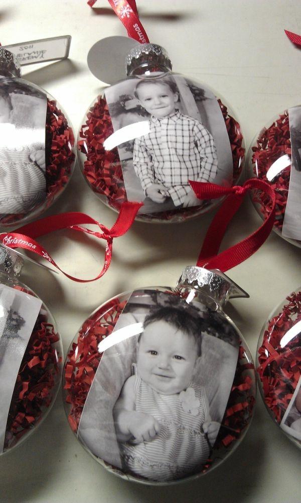 selbstgemachte weihnachtsgeschenke ideen weihnachtskugeln