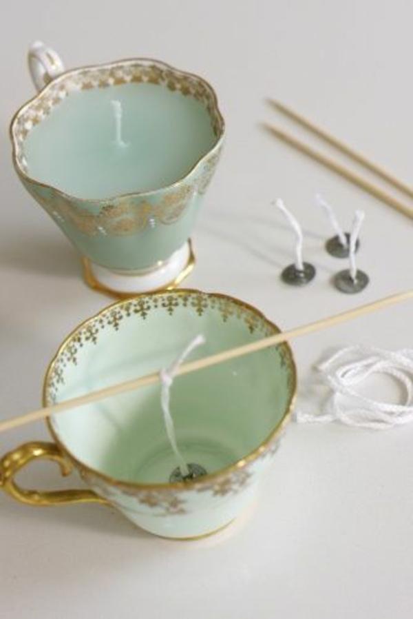 selbstgemachte weihnachtsgeschenke ideen windlicht teetasse