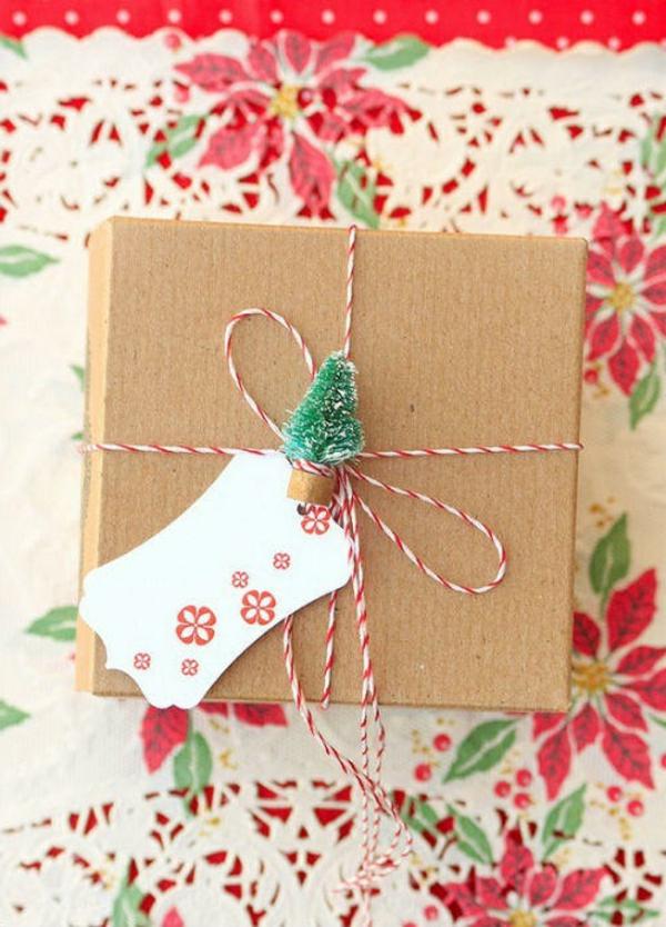 Selbstgemachte Weihnachtsgeschenke und originelle Verpackungen
