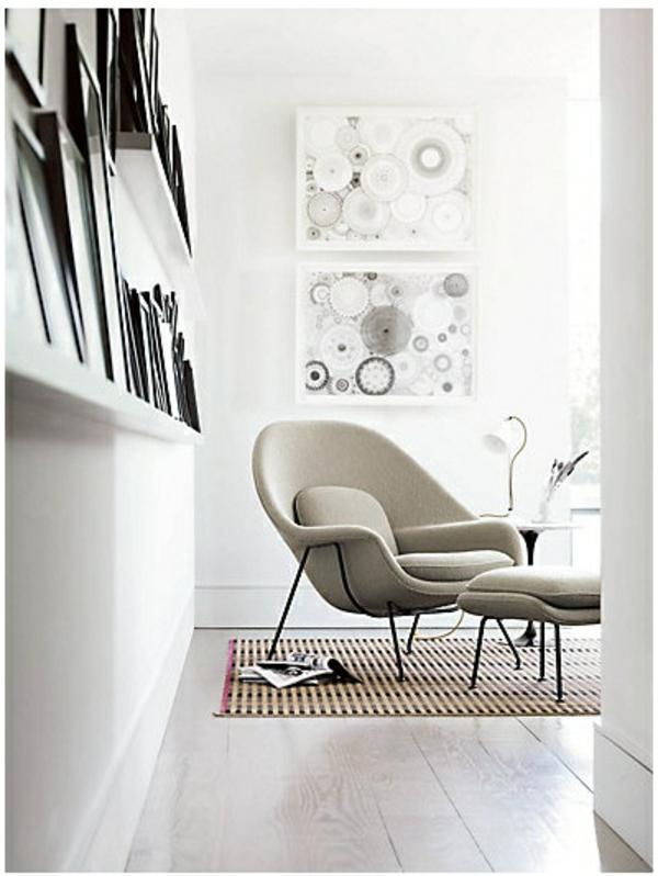 40 skandinavische m bel im landhausstil mit modernen akzenten - Sessel skandinavisch ...