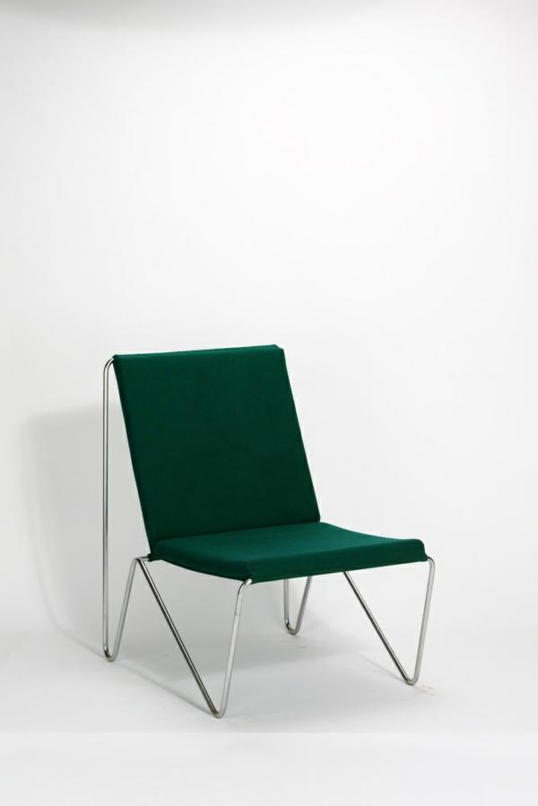 skandinavische möbel designerstühle grün