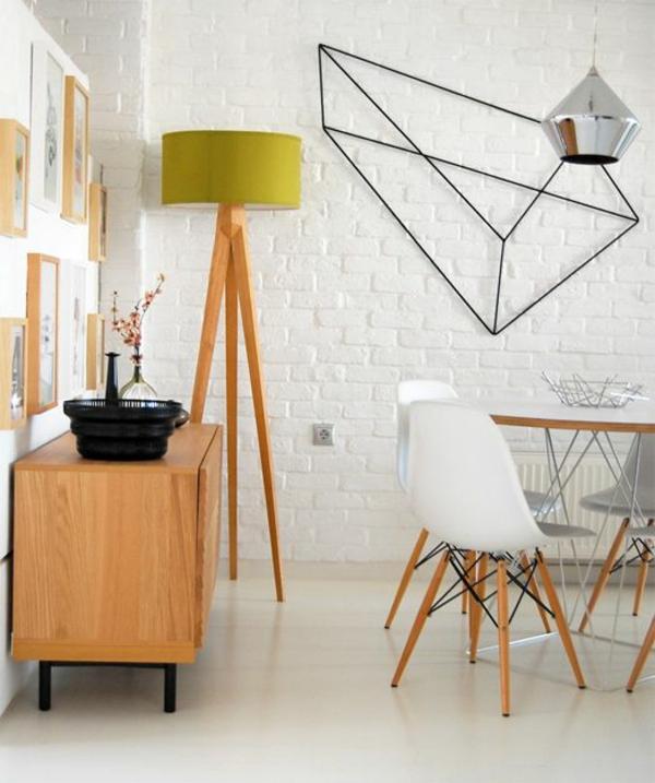 skandinavische möbel esszimmer stühle eames chair