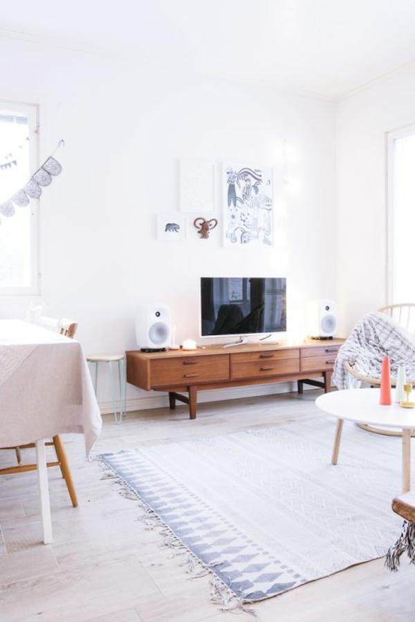 skandinavische möbel holz couchtisch retro akzente