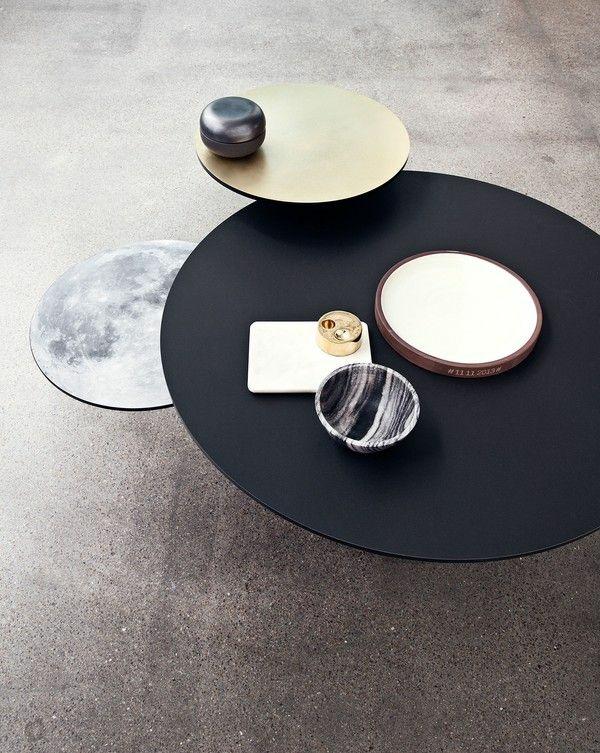 moderne wohnzimmer tische ausgeglichenes auf ideen mit modern ...