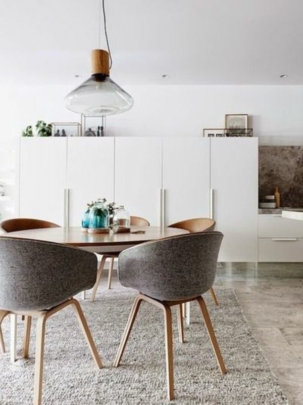 Esszimmer skandinavischer stil  40 Skandinavische Möbel im Landhausstil mit modernen Akzenten