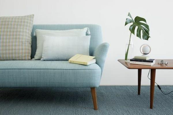 skandinavische zimmerpflanzen möbel online sofa blau