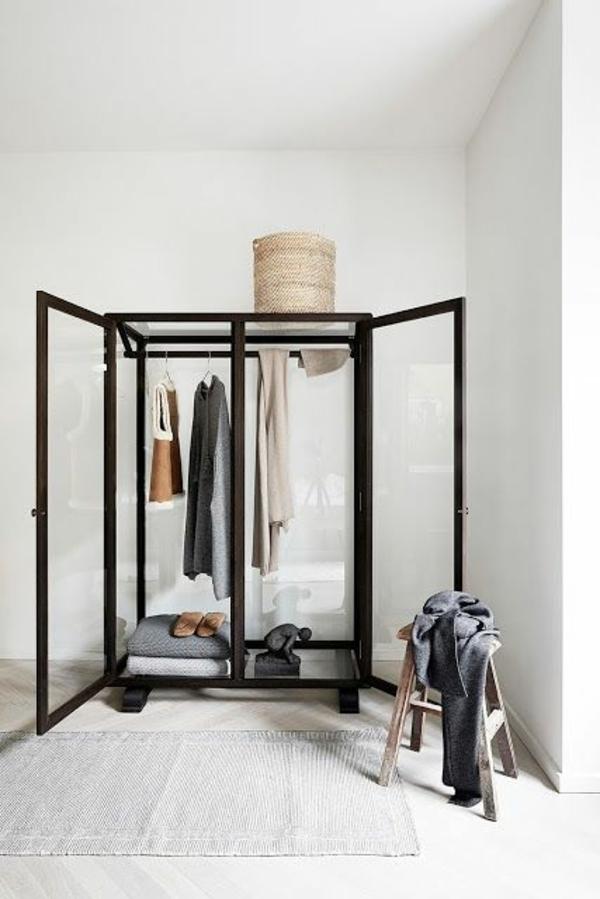 skandinavisches design möbel kleiderschrank